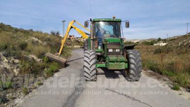 Photo of #Aspe: Comienza la segunda fase del plan de limpieza y desbroce de caminos rurales