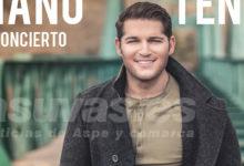 """Photo of #Aspe: Manu Tenorio: """"En el concierto de Aspe vamos a acabar completamente emocionados"""""""