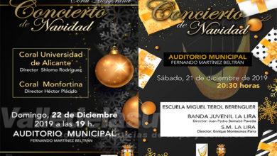 Photo of #Monforte comienza la Navidad con dos conciertos