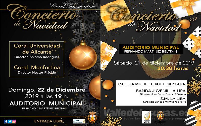 Conciertos Navidad Monforte