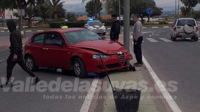 Accidente de tráfico Aspe