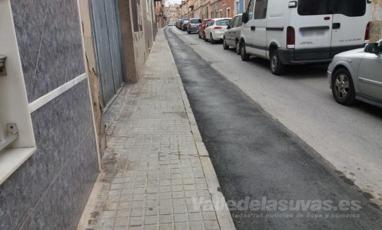 Photo of #Aspe: Quejas por el acabado de la canalización de gas en las calles de Aspe