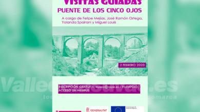 Photo of #Aspe: El Museo organiza una visita al restaurado Puente de los Cinco Ojos