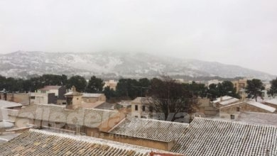 Photo of #Comarca: Previsión de nieve hasta cotas de 300-600 metros de altitud