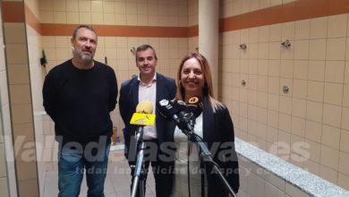 """Photo of #Aspe: Toñi García: """"Los vestuarios mixtos del Pabellón son pioneros en la provincia"""""""