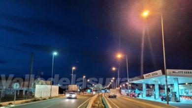 Photo of #Aspe: El Ayuntamiento recupera la iluminación del acceso por la carretera de Novelda