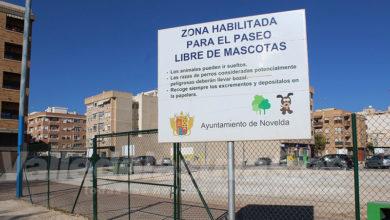 Photo of #Novelda: Mantenimiento realiza mejoras en el Parque Canino Municipal