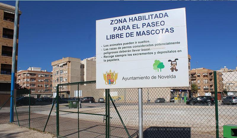 Parque Canino Novelda