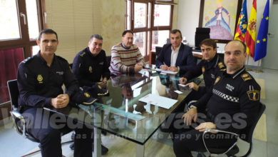 Photo of #Aspe: Reunión con la Policía Nacional sobre seguridad ciudadana y extranjería tras el Brexit