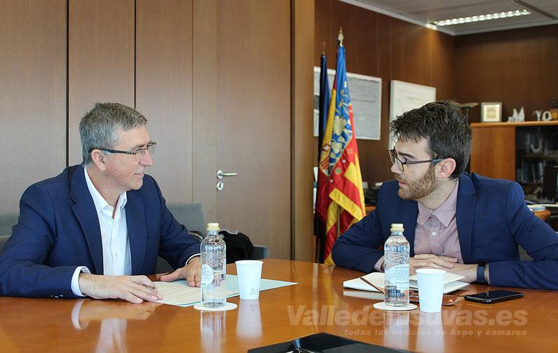 Reunión Conseller Economía