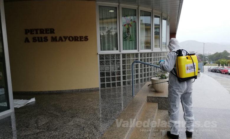 Photo of #Petrer: La UME trabaja en la desinfección de varios puntos estratégicos