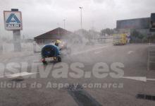 Photo of #Aspe: Los agricultores salen a la calle a realizar labores de desinfección