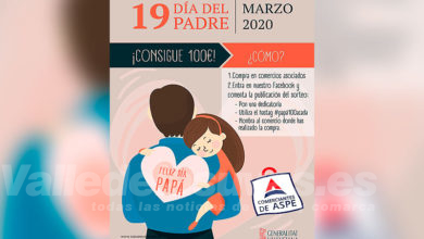 Photo of #Aspe: Los comerciantes sortean 100 euros en la campaña del Día del Padre
