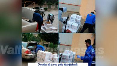Photo of #Comarca: Domti hace un donativo de 2.000 geles al Hospital de Elche