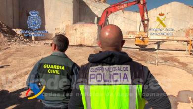 Photo of #Novelda: Desarticulada una organización criminal que introducía metanfetamina en bloques de mármol