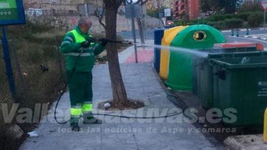 Photo of #Aspe: El servicio de RSU aumenta los trabajos de desinfección de los contenedores