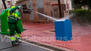 Photo of #Aspe La Federación de Caza colabora en la desinfección de las calles de Aspe
