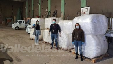 Photo of #Monforte recibe material para fabricar mascarillas