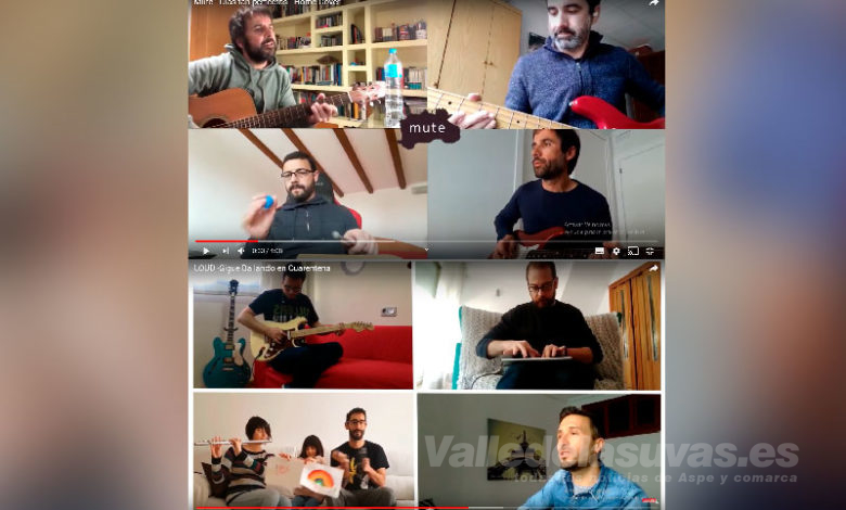 Photo of #Aspe: Mute y Loud, música contra el coronavirus