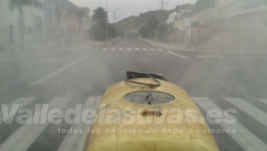 Photo of #Aspe: Nueva desinfección del casco urbano contra la Covid