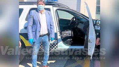 Photo of #Elda: Donan un generador de ozono para desinfectar los coches patrulla de la Policía Local