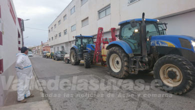 Photo of #Aspe: Los agricultores vuelven a salir a desinfectar las vías públicas