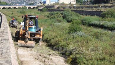 Photo of #Novelda: Medio Ambiente realiza trabajos de desbroce en el cauce del Vinalopó