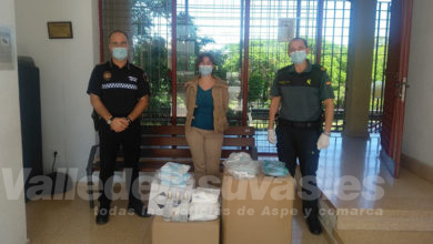 Photo of #Aspe: El Ayuntamiento proporciona 37 equipos de protección a los agentes de la Guardia Civil