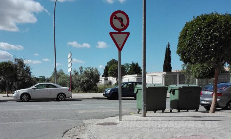 Photo of #Petrer: Señalizan diversos puntos de la población para evitar accidentes y conflictos