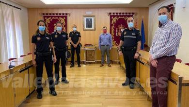 Photo of #Aspe refuerza la seguridad con la incorporación de tres nuevos agentes de la Policía Local