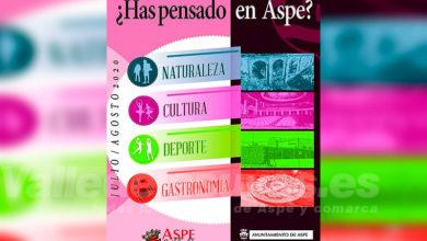 Photo of #Aspe: Más de 40 actividades para los meses de verano