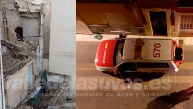 Photo of #Aspe: La caída de una vivienda provoca la alarma de los vecinos