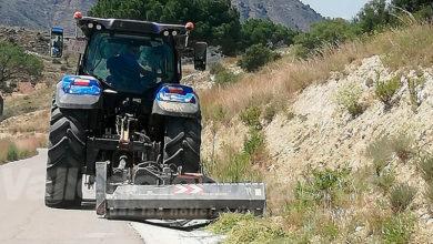 Photo of #Aspe: Desbrozan 35.500 metros de hierbas en más de 30 caminos rurales