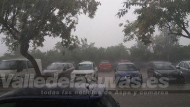 Photo of #Aspe: La lluvia de este lunes asciende a más de 35 litros