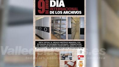 """Photo of #Monforte: Cultura presenta """"El Día Internacional de los archivos"""""""