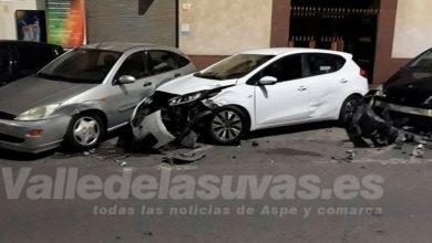 Photo of #Novelda: Identifican al conductor que provocó una colisión múltiple en la Avenida de la Constitución