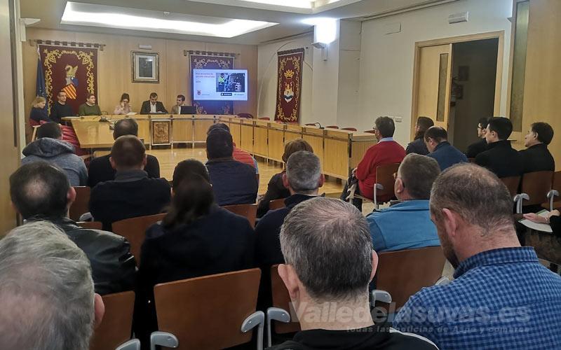 Reunión Ayuntamiento Salon Plenos