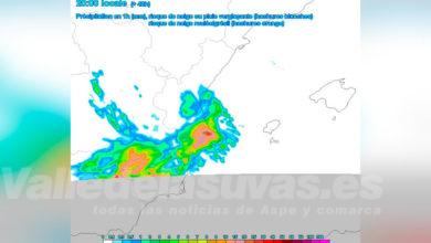 Photo of #Aspe Meteo prevé posible tormenta para el martes