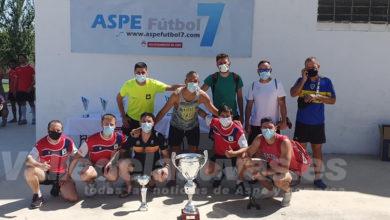 Photo of #Aspe: Centurión Gym-Jardines Newton se alza con el campeonato de Copa de Fútbol-7