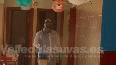 Photo of #Aspeprocede a la desinfección de los centros escolares
