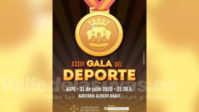 Photo of #Aspe: Publican los nominados a la Gala del Deporte 2020