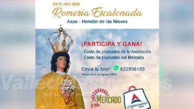 Photo of #Aspe: Amplían el plazo de la Romería Escalonada