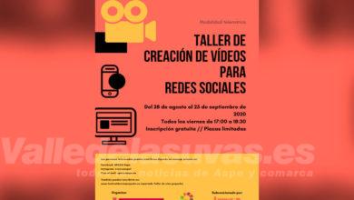 Photo of #Aspe: La UPCCA organiza un taller de creación de vídeos para redes sociales