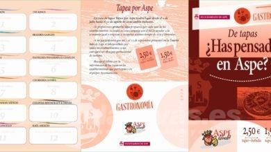 Photo of #Aspe: Tapea por Aspe hasta el 31 de agosto