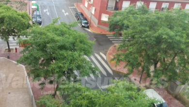 Photo of #Aspe: Breve tormenta de verano en Aspe