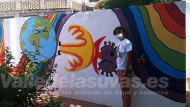Photo of #Aspe: Finaliza el taller de pintura en la Casa de la Juventud con un espectacular mural sobre el coronavirus