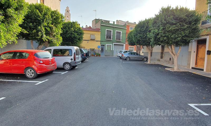 asfaltado calles Monforte