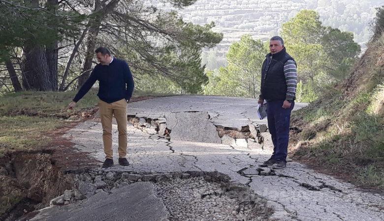 Photo of #Diputación sufraga la reapertura de los caminos afectados por la borrasca Gloria
