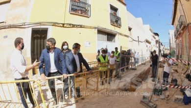 Photo of #Diputación invierte más de 800.000 euros en la reurbanización de calles de Aspe y Agost