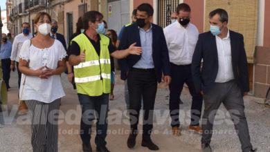 Photo of #Aspe: Carlos Mazón visita las obras de la calle Ramón y Cajal